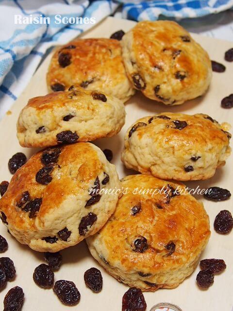 raisin scones recipe