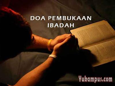 doa pembukaan ibadah