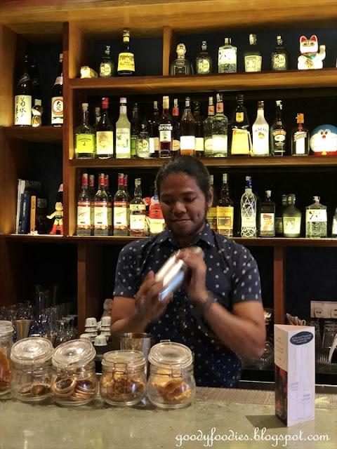 Mixologist Haniff Yon