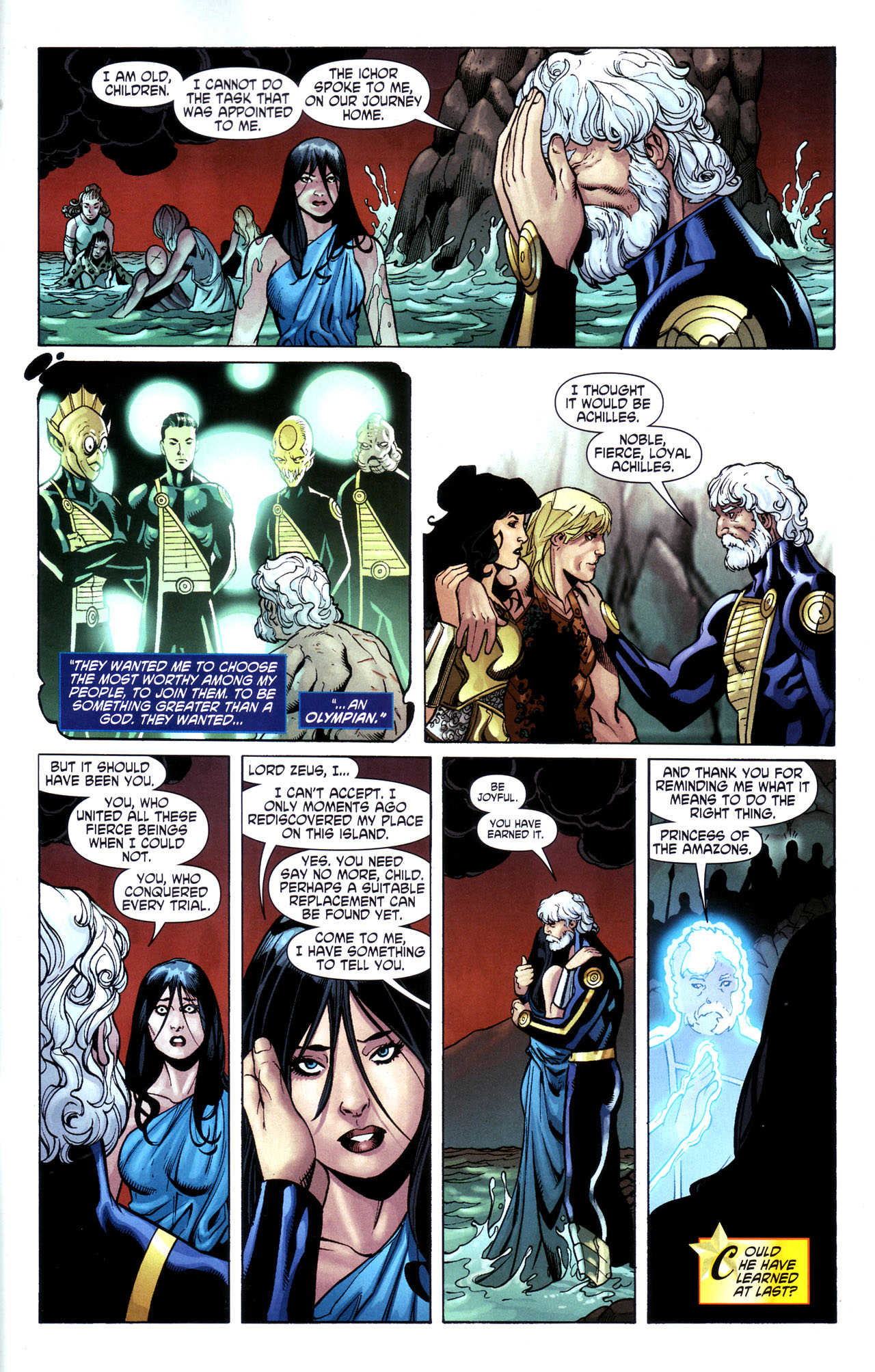 Read online Wonder Woman (2006) comic -  Issue #39 - 22