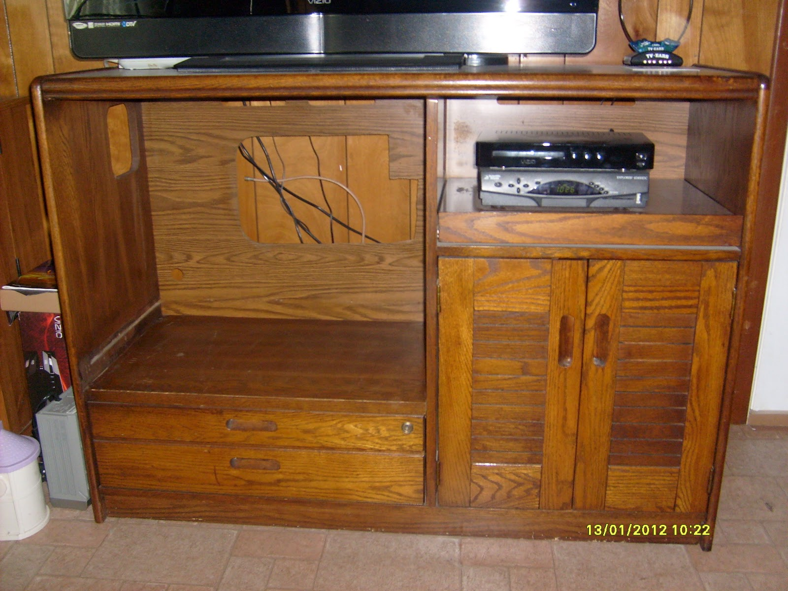 Repair And Recycle How To Recycle And Repurpose A Tv Stand