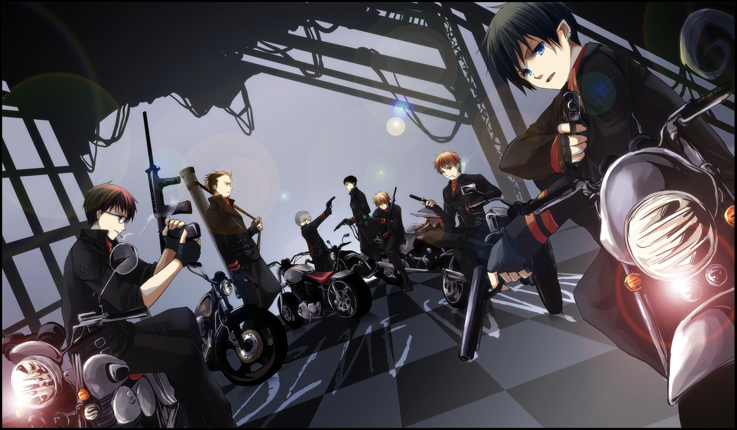 Hd Wallpaper Ao No Exorcist Black Suit Character 0003