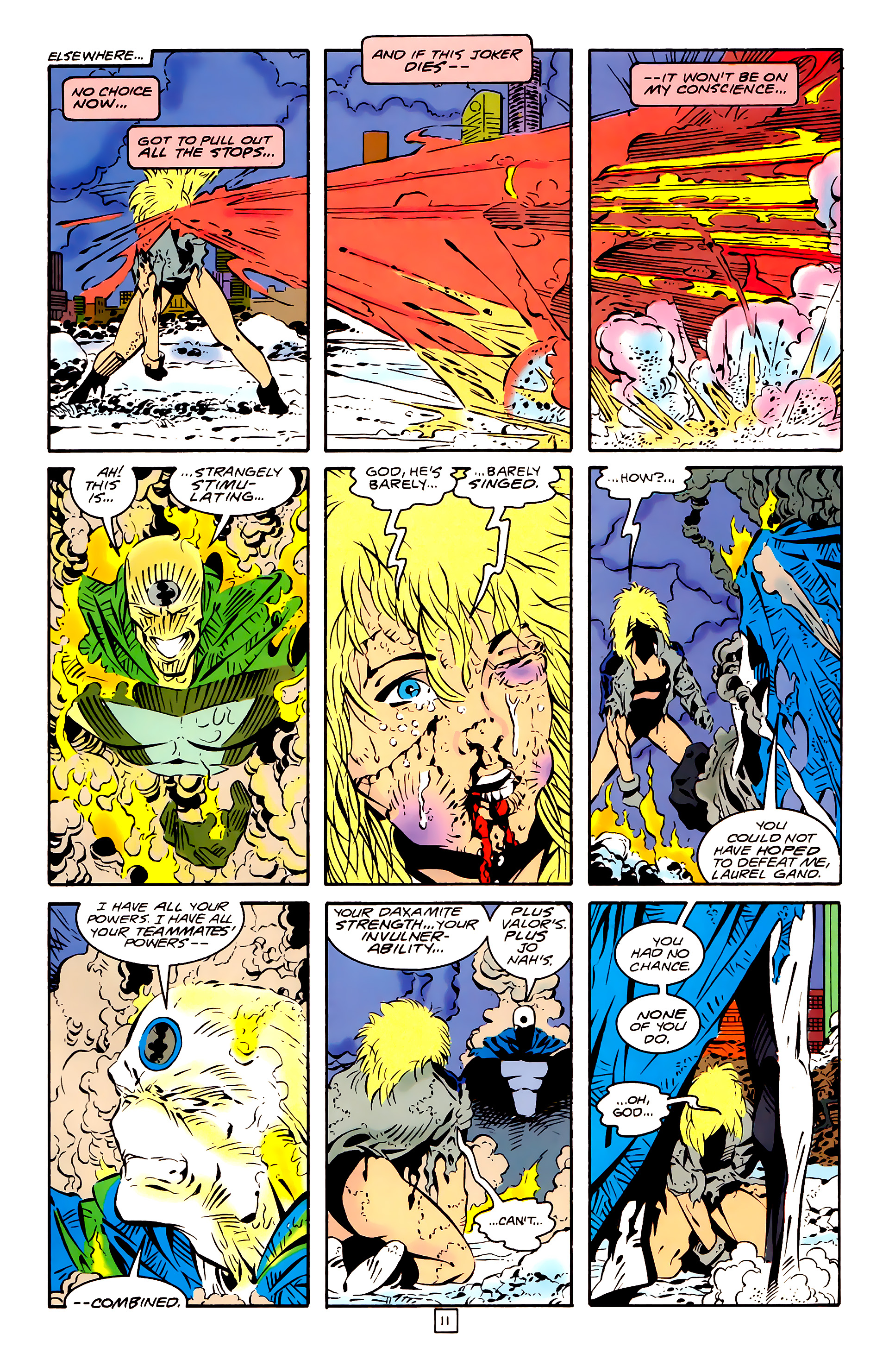 Legion of Super-Heroes (1989) 26 Page 11