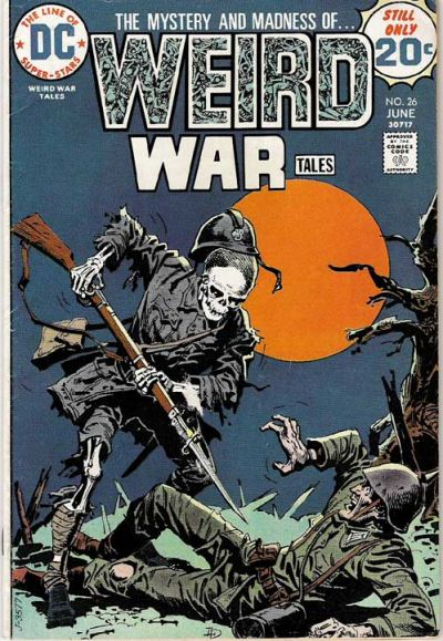 Weird War Tales #26