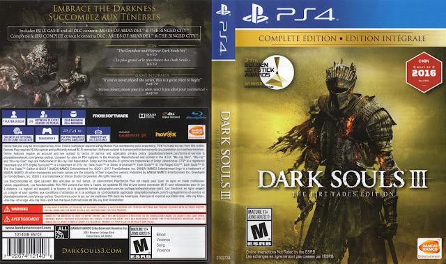 Dark Souls III - The Fire Fades Edition PS4