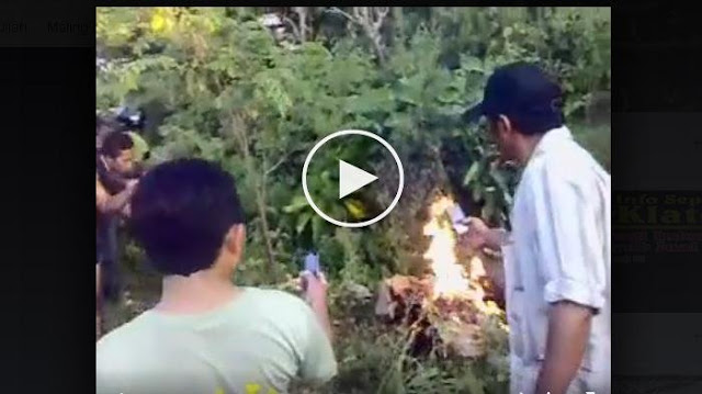 Video - Seorang Pencuri Yang Dibakar Hidup-hidupb Dan Direkam Ini Menjadi Viral, Ngeri