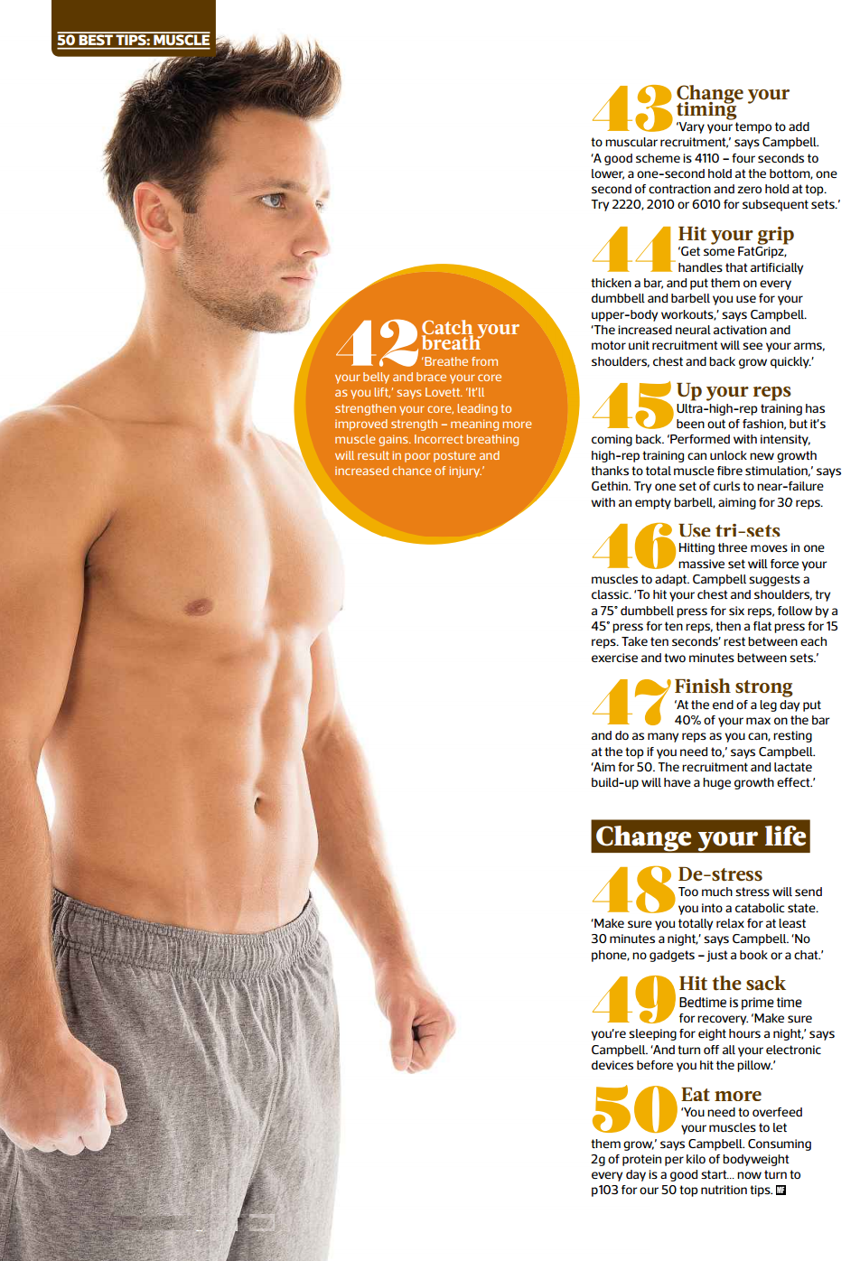 Ultimate Health Care Guide: 50 Best Muscles Building Tips