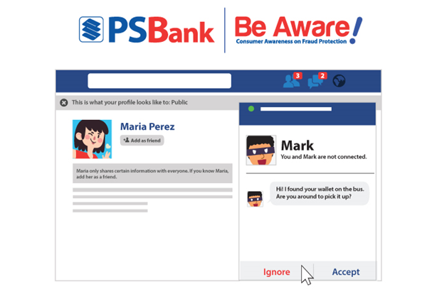 PSBANK's Simple ways to outsmart social media scammers