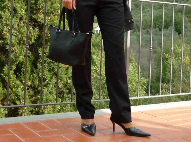 vestirsi di nero, abbinamenti con nero