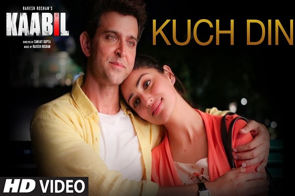 Kuch Din Kaabil Hrithik Roshan Yami Gautam New Bollywood Indian Hindi Video Songs 2017
