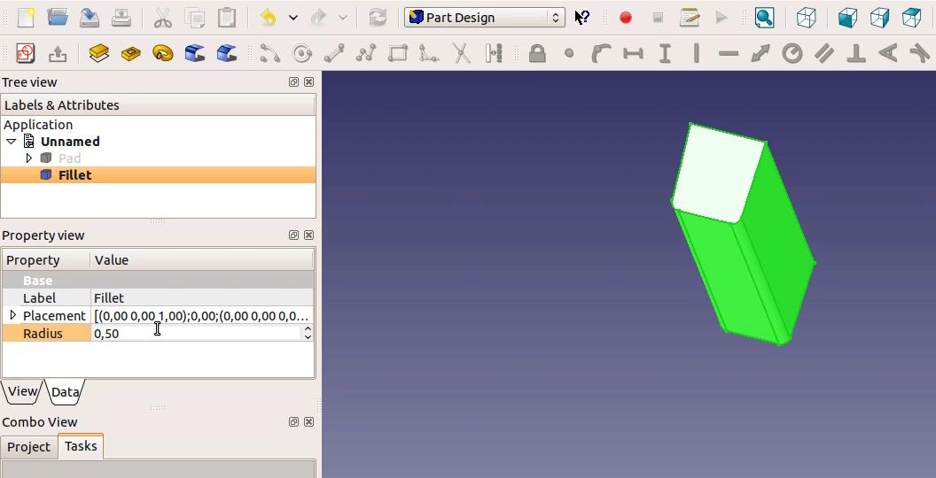 FreeCAD tutorial: Engine: 5 - camshaft gear