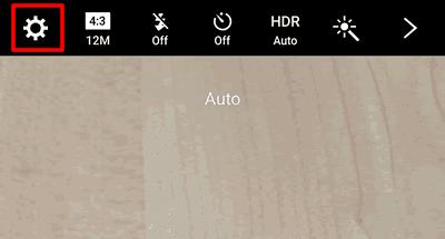 Come togliere la griglia nella fotocamera Android