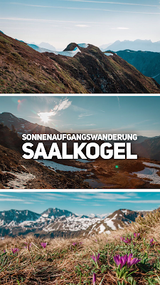 Sonnenaufgangswanderung auf den Saalkogel | Saalbach-Hinterglemm | Wandern im #HomeOfLässig | Wanderung Salzburgerland