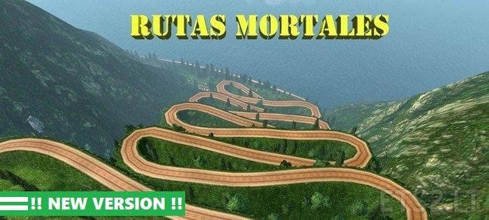 Mod Map Rutas Mortales Terekstrim ETS2