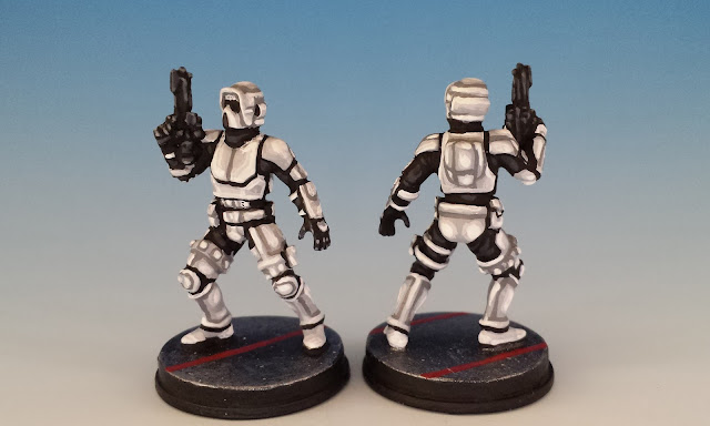 ISB Infiltrators, Imperial Assault (2016), painted miniature conversion