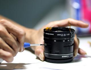 Kerusakan yang sering terjadi pada lensa kamera
