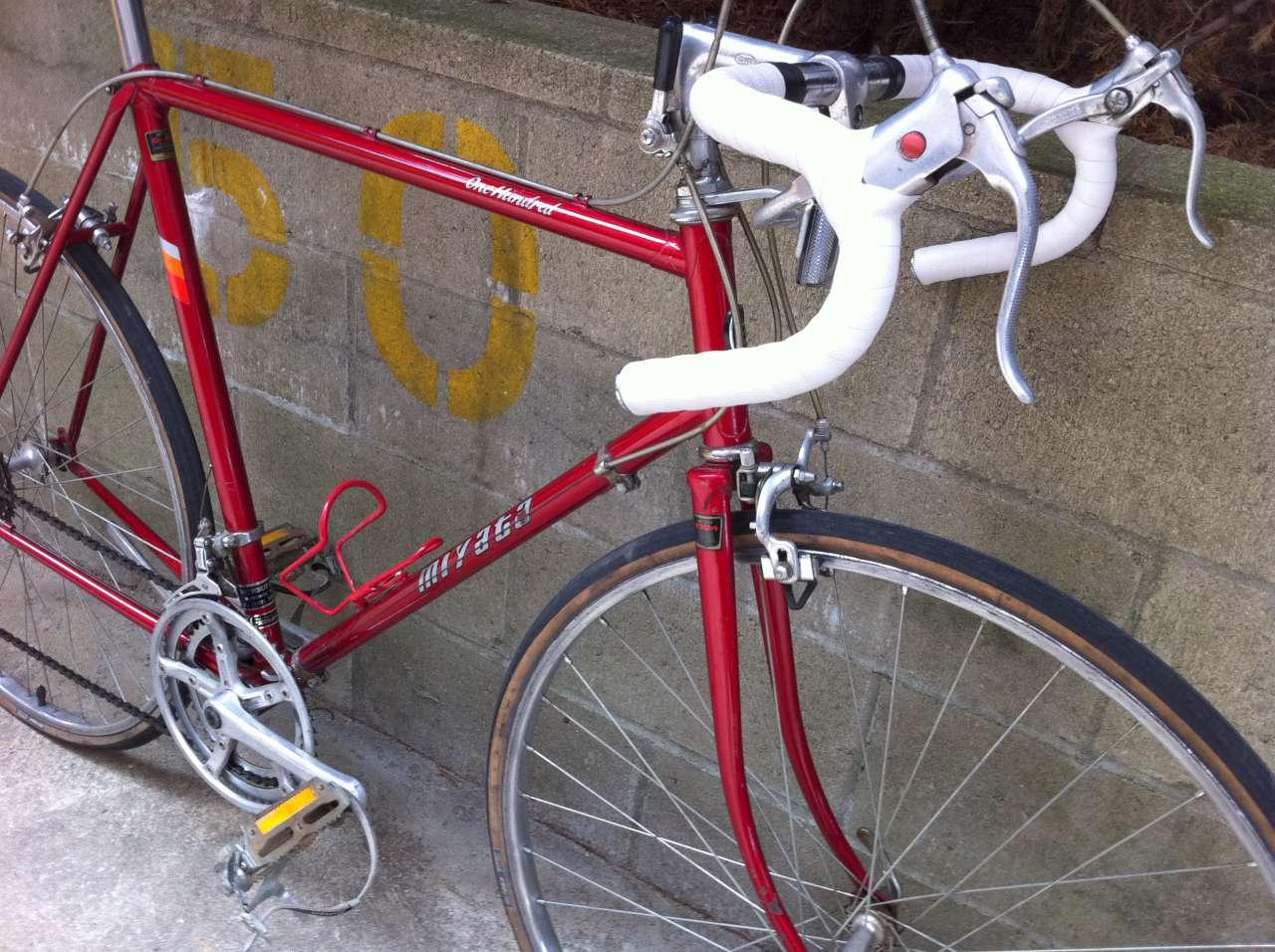 Bike Boom Refurbished Bikes 1984 Miyata 100 One Hundred