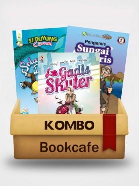 Kombo Novel dan Komik Di Bookcafe