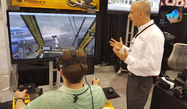 Virtual Reality-Based Aircraft Deicing Operator Training