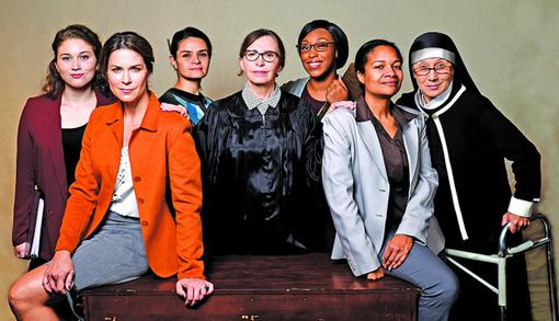 Project Dawn full cast   Horizon Theatre