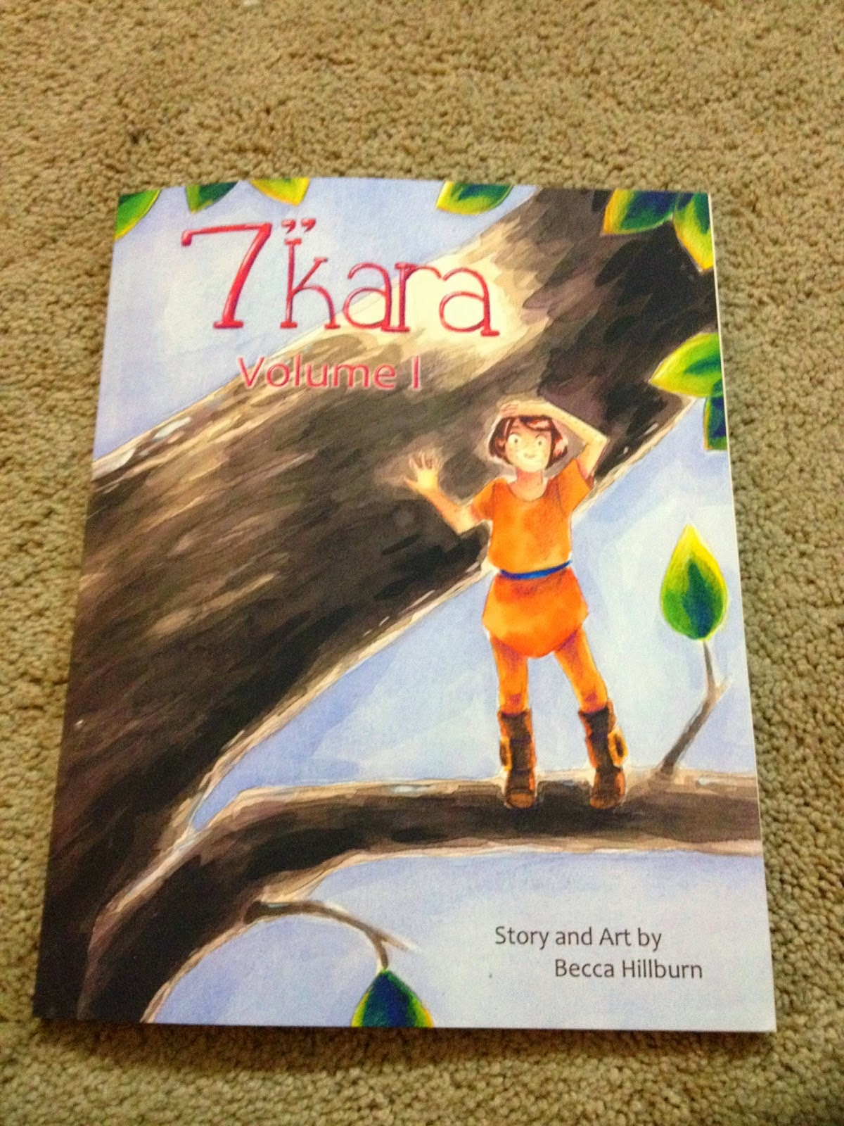 "7 Inch Kara, 7"" Kara, children's comic, comics for kids, all ages comics, great comics for kids"