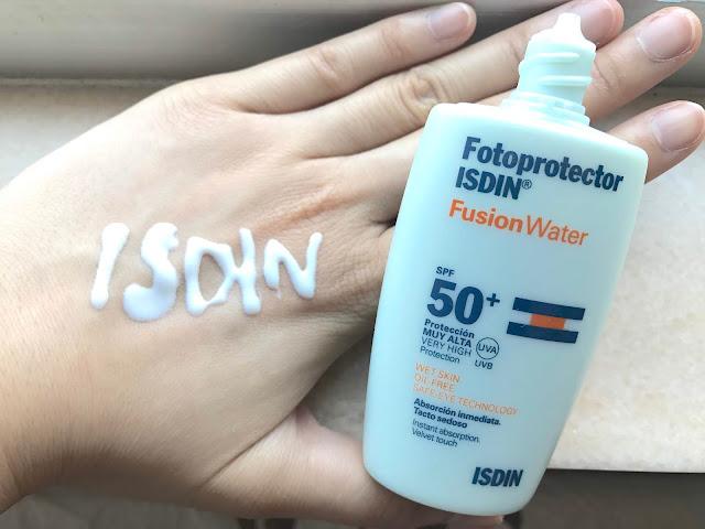 >>濕住用的防曬液*西班牙 ISDIN 多維光護沁融水感防曬液 SPF50+ PA+++ Fusion Water