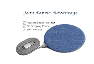Mobfun Fabric Wireless Charger