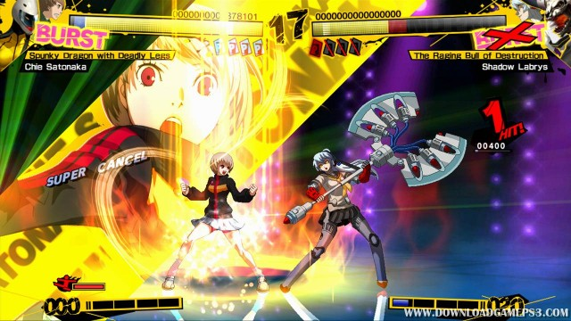 Persona 4 Arena - Download game PS3 PS4 RPCS3 PC free