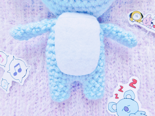 BT21 Koya Plush Crochet Pattern
