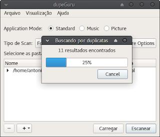 DupeGuru chega de arquivos duplicados