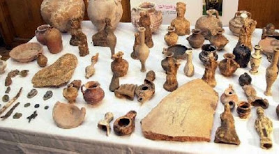Antiquities looting surges in crisis-stricken Greece