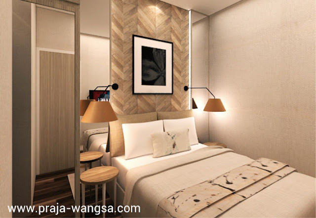 Interior Design Bedroom Apartemen Prajawangsa City