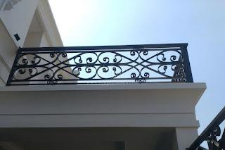 jasa railing tangga rumah modern klasik