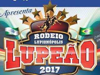 Agenda Shows 2017 Rodeio Lupeão Mês Março