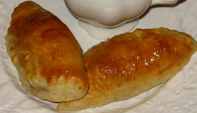 Maple Laced Sausage Filled Breakfast Pastries .