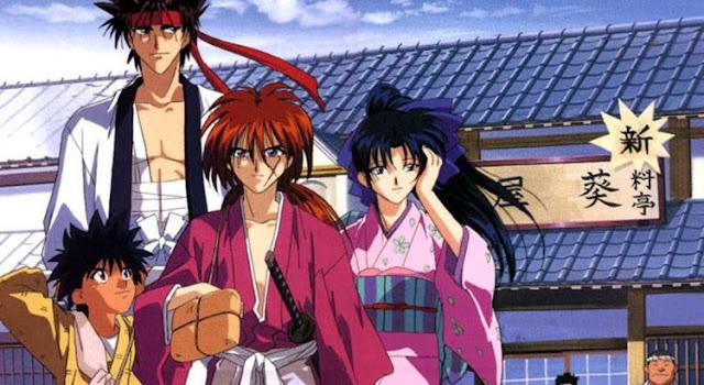 Rekomendasi Anime Yang Mirip Inuyasha - Rurouni Kenshin