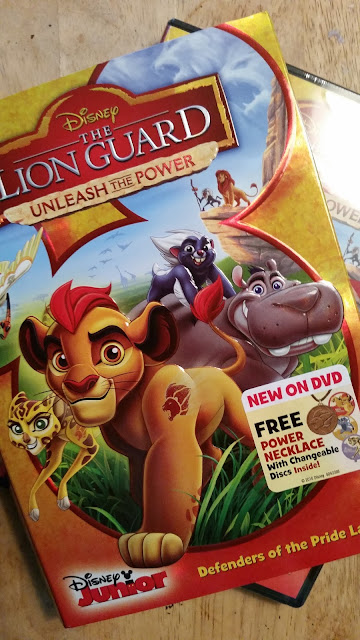 Lion Guard DVD power necklace