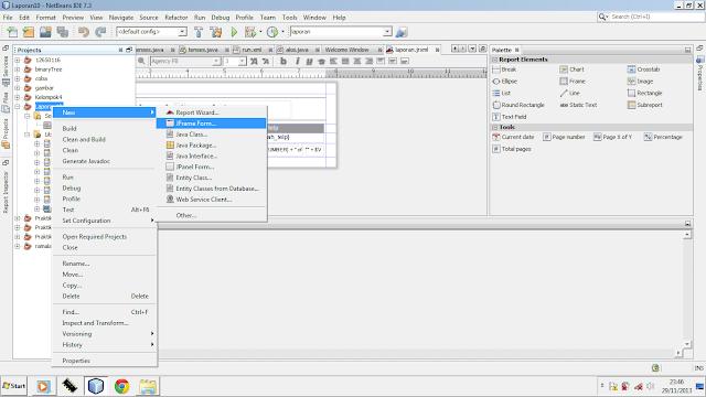 Kelas Informatika - JFrame Form Java