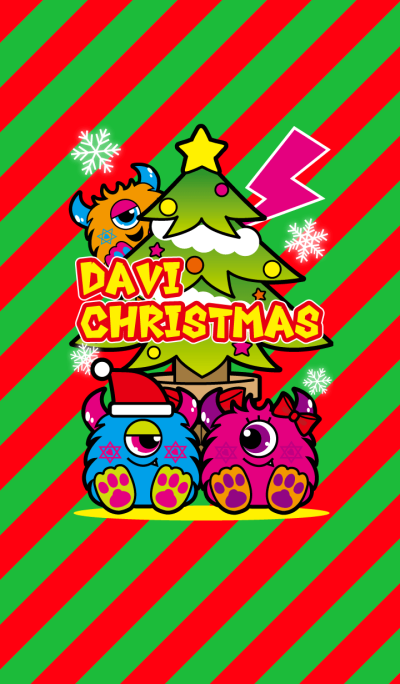 DAVI-MONSTER CHRISTMAS!