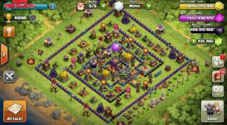 Clash of Clans Mod Apk Using Host Editor [Unlmited Gems+Gold+Elixir]