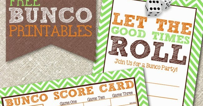 i should be mopping the floor Free Bunco Printables