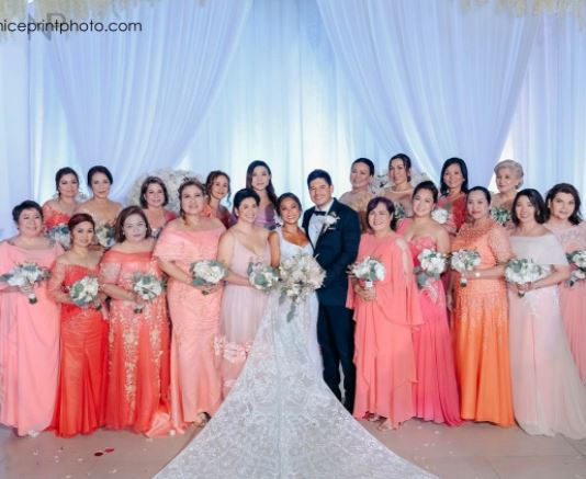 MUST WATCH: Arthur Solinap And Dingdong Dantes Gave The Bride A Surprise Dance Number On Their Wedding Day