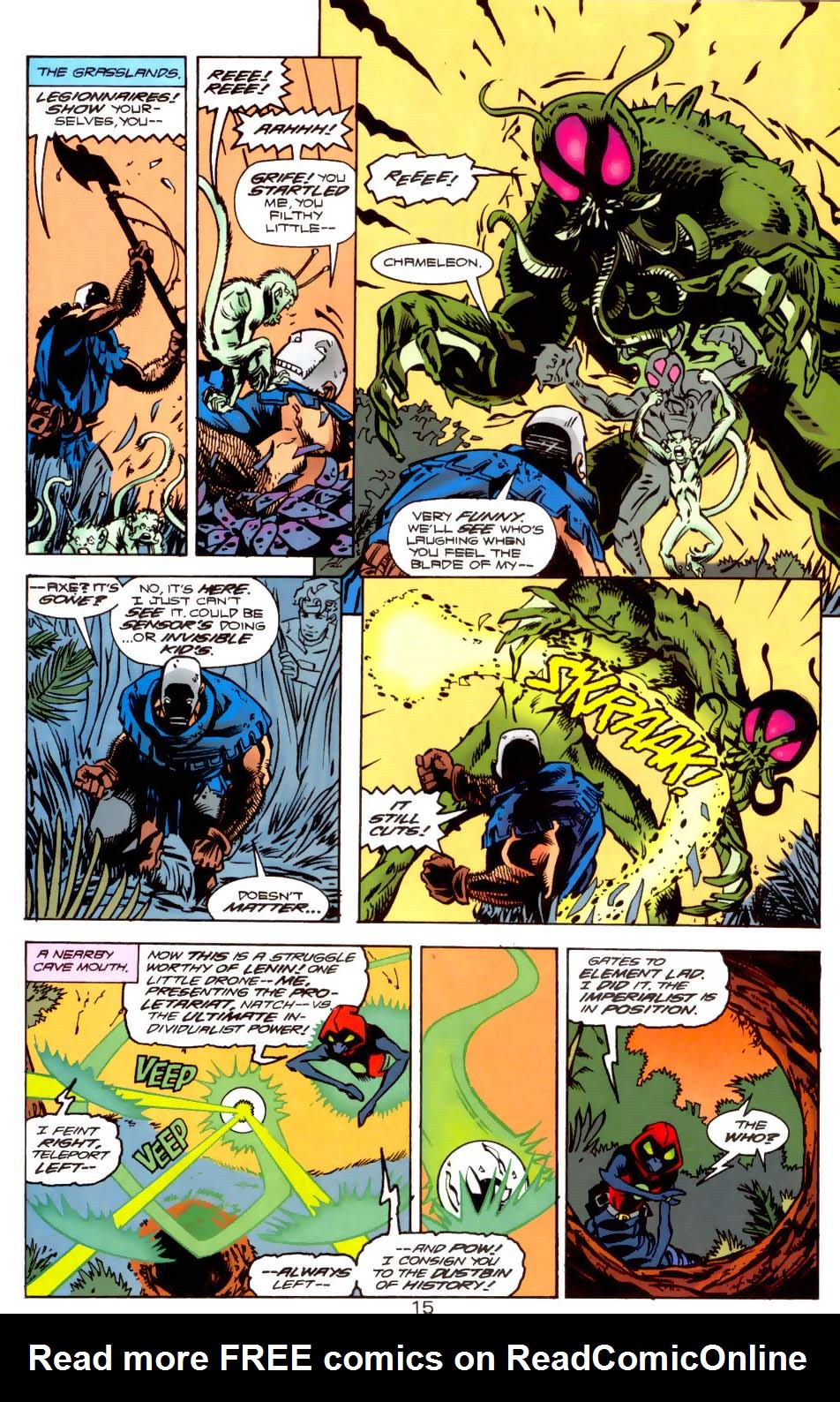 Legion of Super-Heroes (1989) 121 Page 14