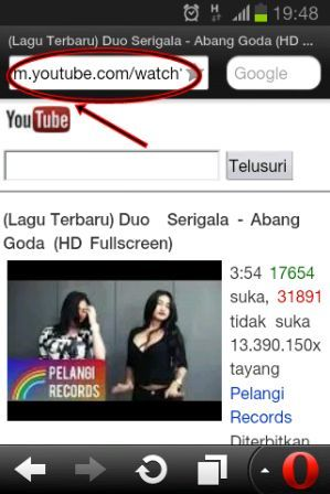 Cara Download Video Youtube Lewat Opera Mini Andievideo