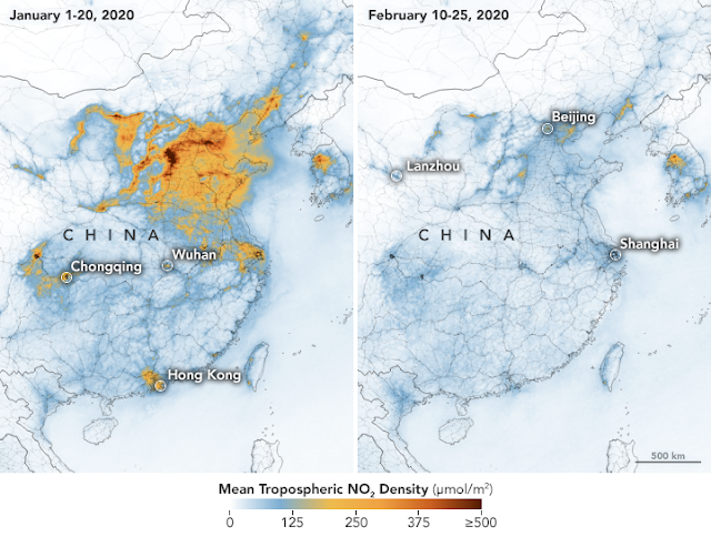 China contaminación coronavirus