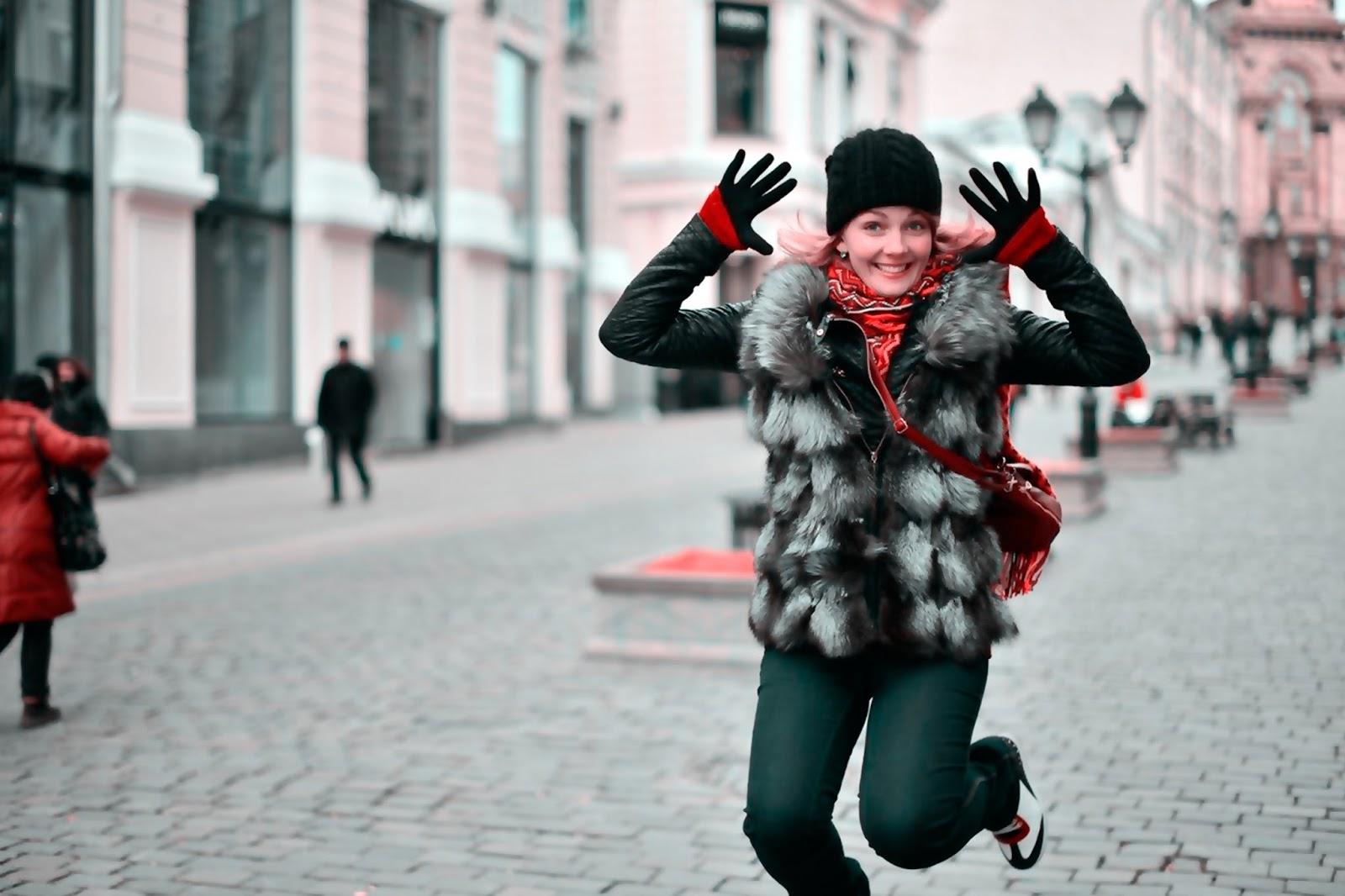 Как избавиться от осенней депрессии? На фото актриса Натали Цветкова