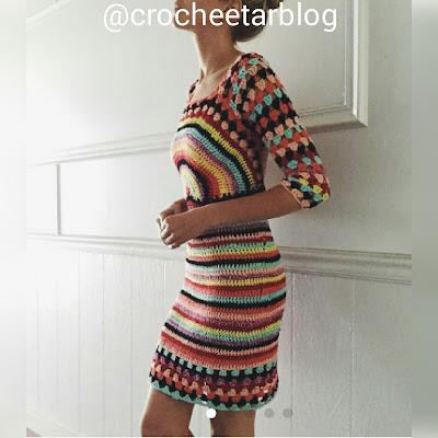 vestido arco iris