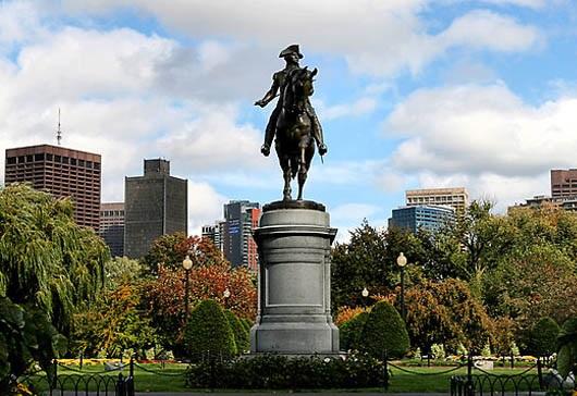 Boston Common - Công viên công cộng lâu đời nhất ở Mỹ