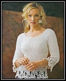 vyazanie spicami pulover shema i opisanie