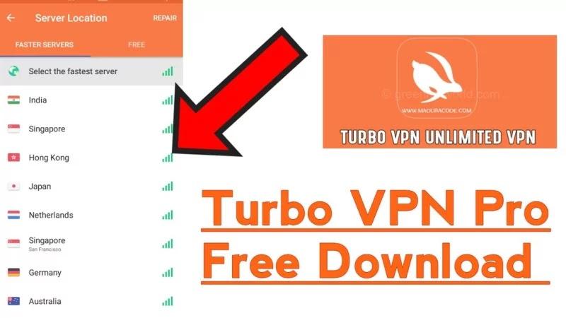 Turbo VPN Pro Mod Apk